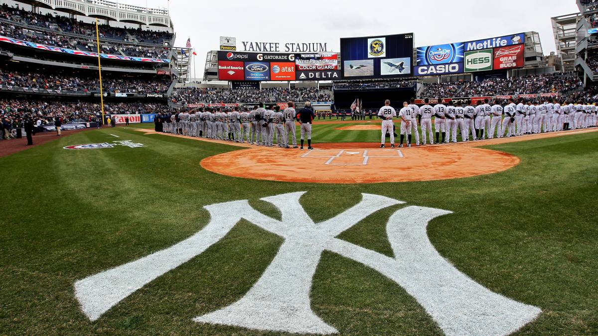 Calendario 2018 Yankees