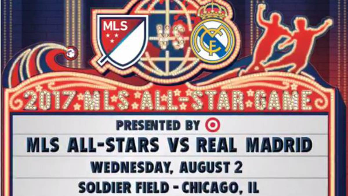 Real Madrid será el rival del MLS All-Stars en agosto
