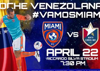 El Miami FC regresa a casa para recibir al North Carolina FC