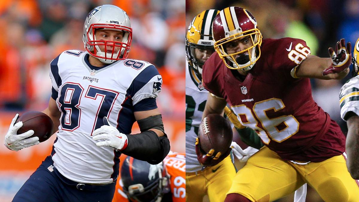 Top 10 tight ends en NFL fantasy