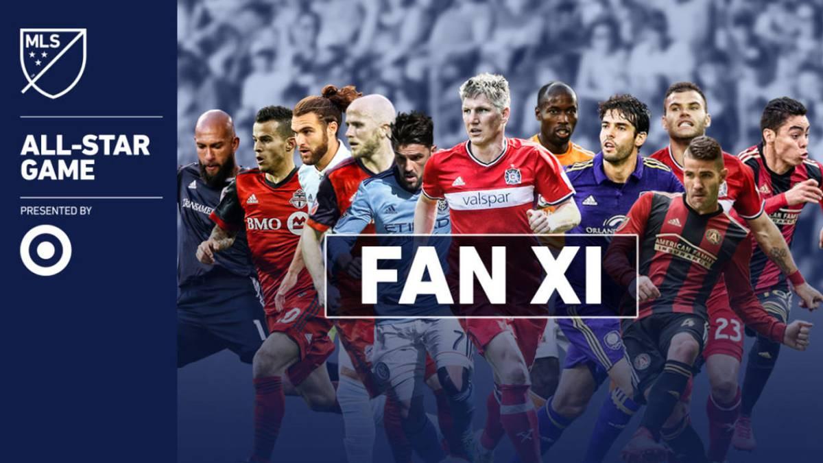 La MLS dio a conocer el All Star que jugará ante el Real Madrid