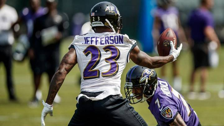 Tony Jefferson safety de los Baltimore Ravens gracias al Game Pass y el Madden.