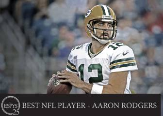 Los Green Bay Packers arrasan en los premio ESPYS