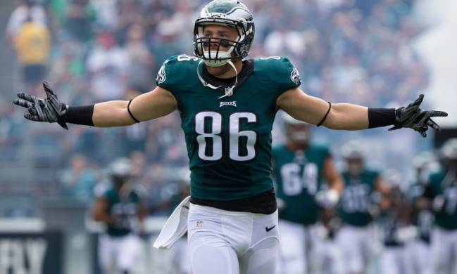Zach Ertz, tight end de los Philadelphia Eagles