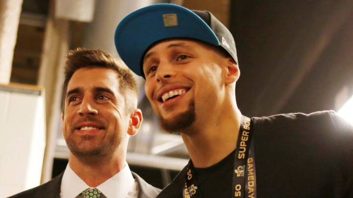 Aaron Rodgers y Stephen Curry: zapatero, a tus zapatos