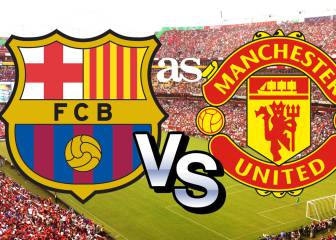 Barcelona-Manchester United en directo online: International Champions Cup