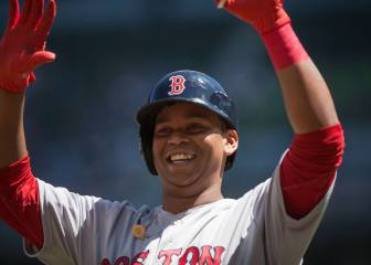 Rafael Devers es la respuesta para Boston en tercera base