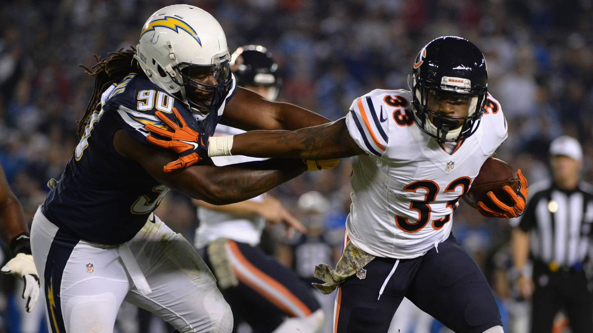 Los Chicago Bears cortan a Jeremy Langford