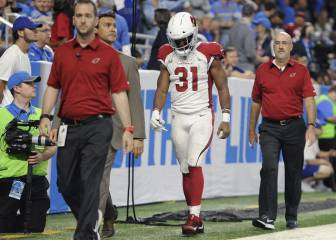 Parte de guerra semana #1 NFL: David Johnson, out 12 semanas