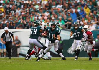 Power Ranking NFL Semana 5: Llegan los Philadelphia Eagles