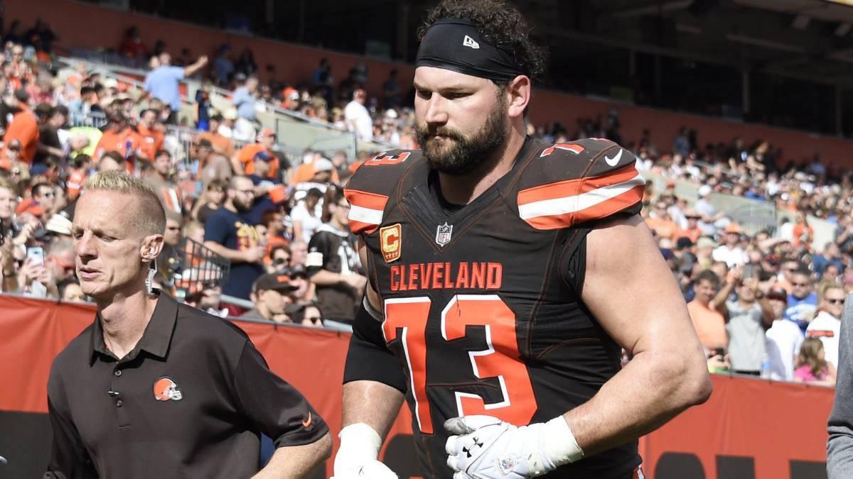 Joe Thomas rompe su increíble racha, los Cleveland Browns no