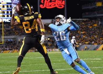 Ben, Brown y los Steelers dominan a los Titans