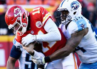 Titans vs Chiefs en vivo online: NFL, Playoffs