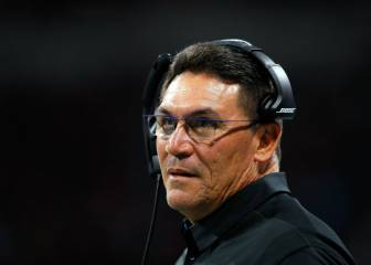 Ron Rivera seguirá como head coach de los Panthers
