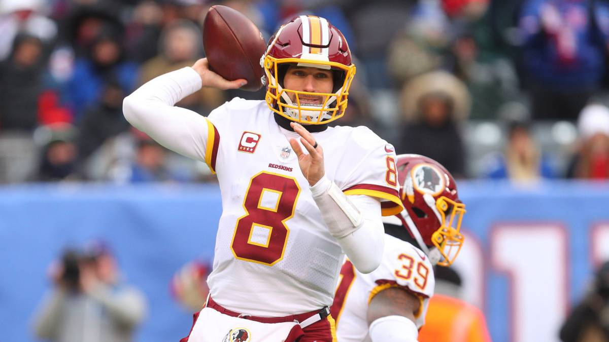 Washington Redskins quieren mantener a Kirk Cousins