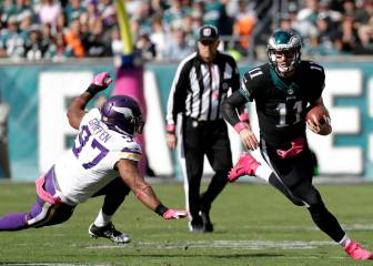Y quedaron dos en la NFC: Vikings vs Eagles