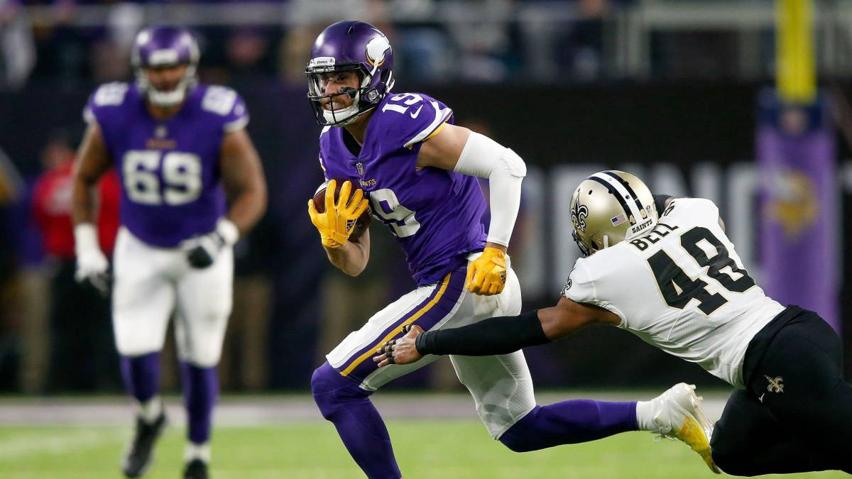 Adam Thielen está de vuelta en Minneapolis