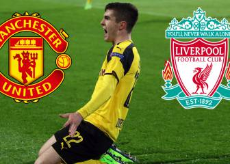 Manchester United y Liverpool buscan a Christian Pulisic