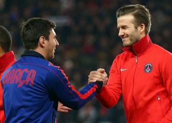 Leo Messi open to joining Beckham's Miami MLS team