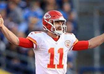 Alex Smith regresará la NFC con los Washington Redskins