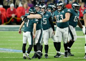 Eagles 41-33 Patriots: Philadelphia da la campanada en la Super Bowl LII
