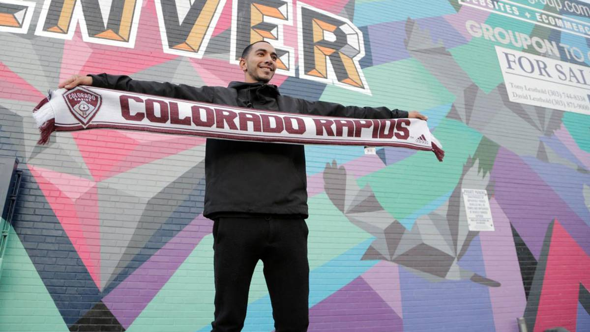 Edgar Castillo jugará CCL con Colorado Rapids