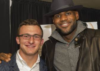 Johnny Manziel y el apoyo fallido de LeBron James