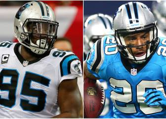 Carolina Panthers liberan a Charles Johnson y Kurt Coleman