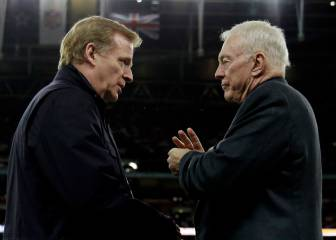 Goodell multará con millones de dólares a Jerry Jones