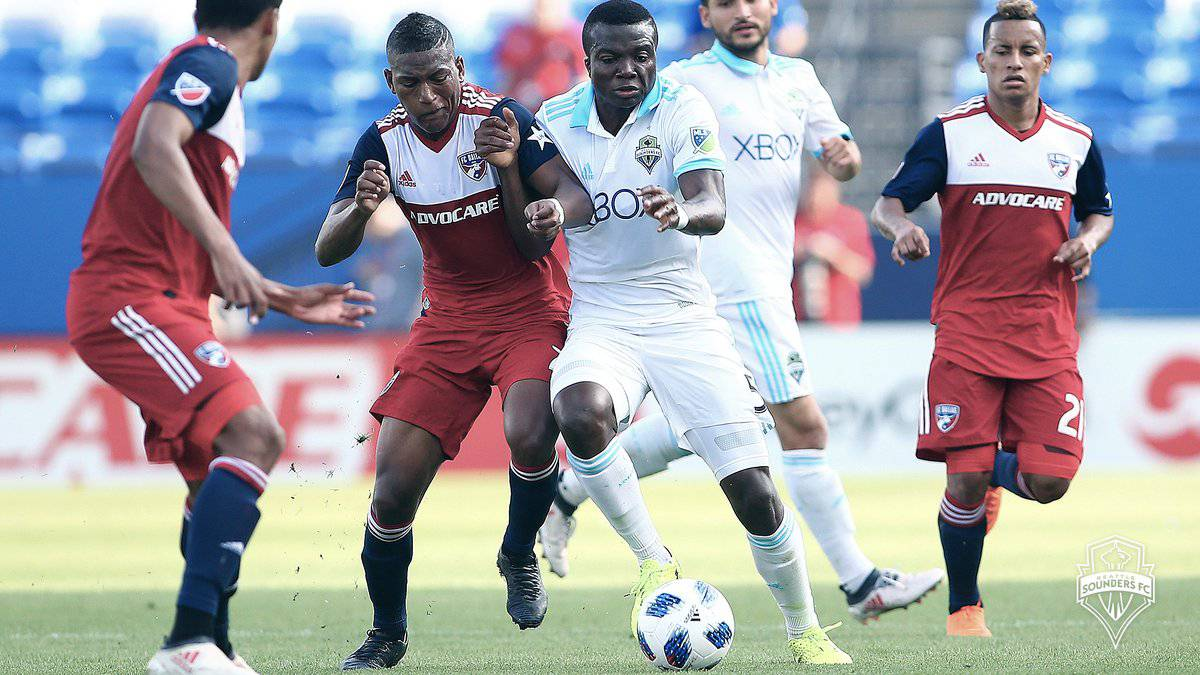 FC Dallas goleó a unos Seattle Sounders en crisis