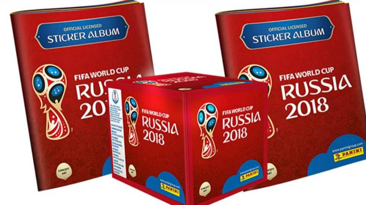 La fiebre de la próxima Copa Mundial de Rusia 2018 continúa por el mundo y  aquí. Panini 64097648b4bf6