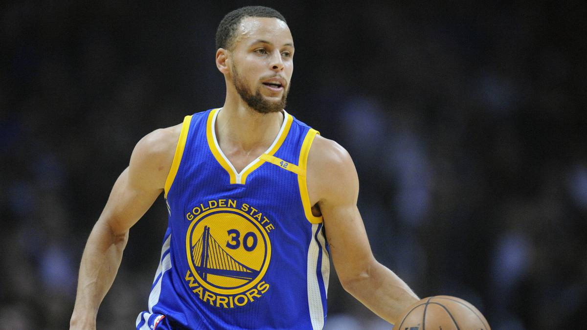 Stephen Curry, de los Warriors de Golden State