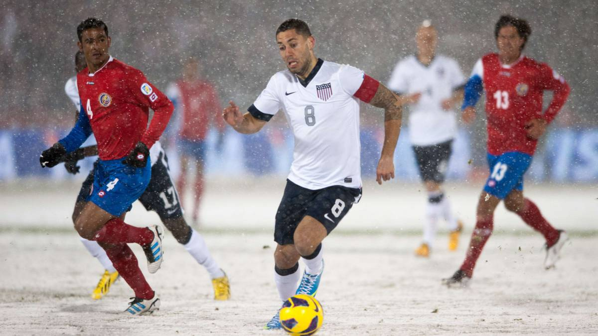 A cinco años de la nevada en el Estados Unidos vs Costa Rica