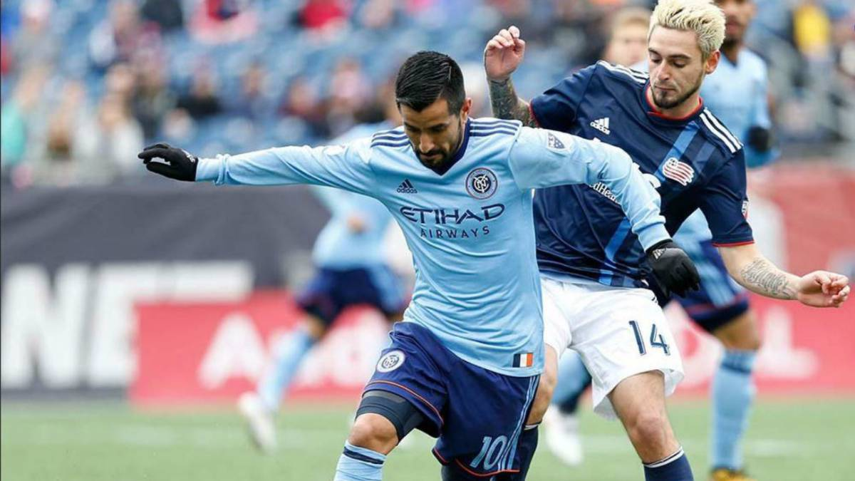 Sin Villa, el New York City rescata el empate en Foxborough