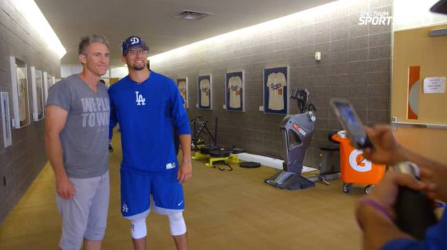 Chase Utley y David Smeltzer