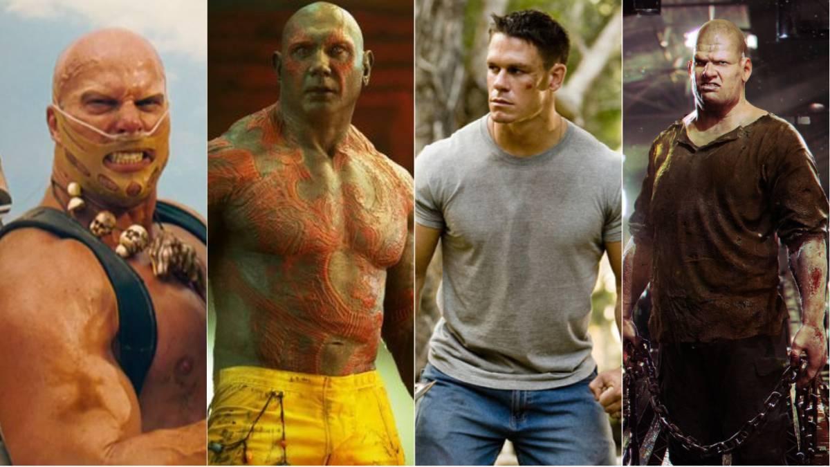 Los luchadores que pasaron de la WWE al cine