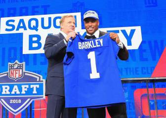 Saquon Barkley rompe récord de jerseys vendidos tras Draft