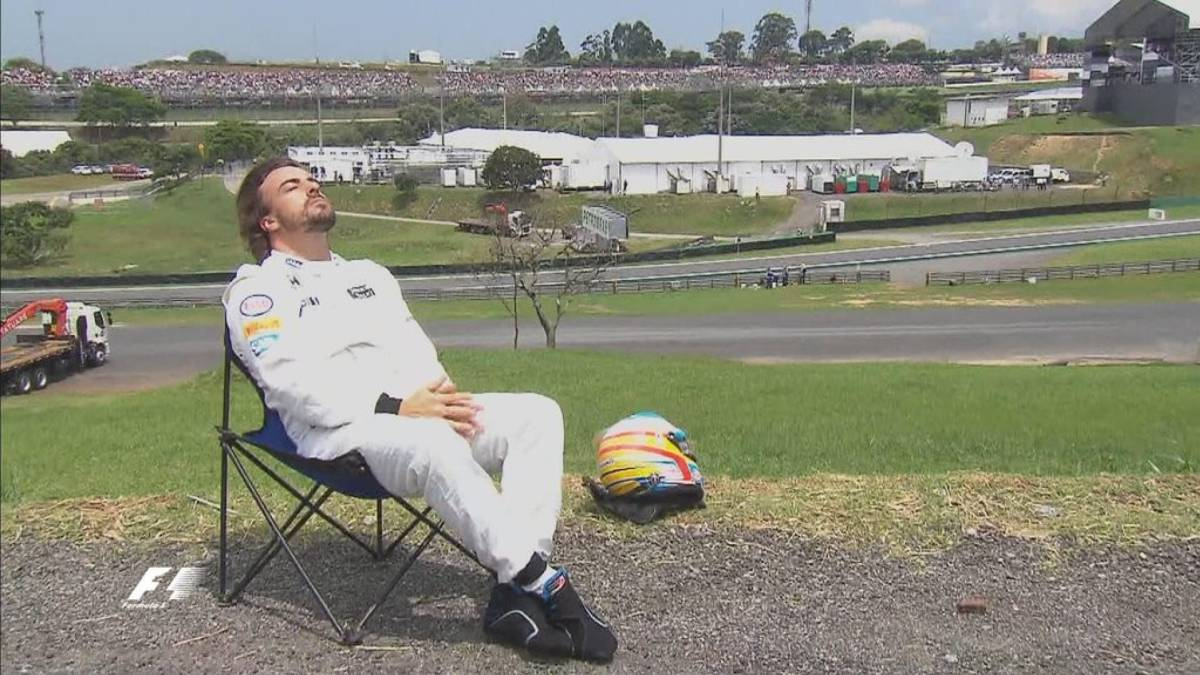 As al volante: Fernando Alonso