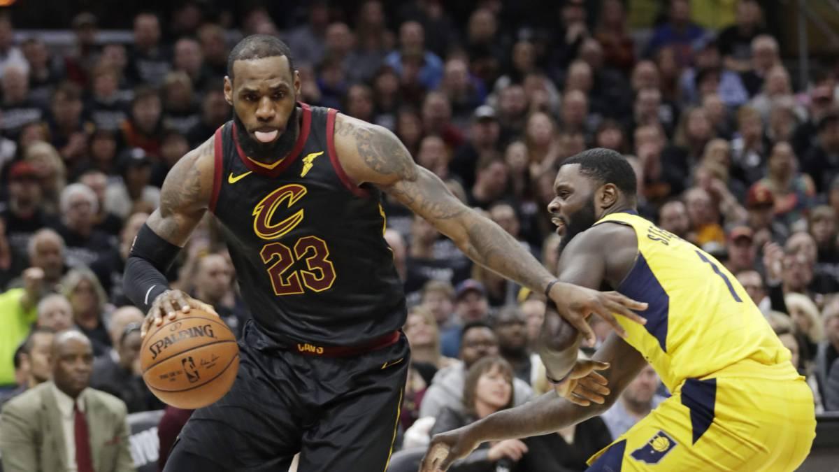 Pacers - Cavs en vivo  Playoffs NBA 2018 6b36afd0a12