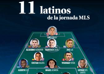 El once ideal de latinos en la semana 9 de la MLS