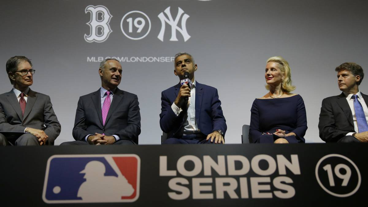 Yankees y Red Sox viajarán a Londres en 2019