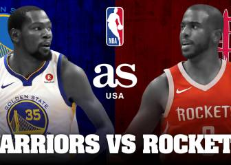 Warriors 94 - 98 Rockets: Resumen y resultado