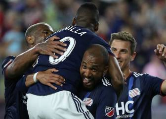 New England Revolution logró remontar a New York Red Bulls