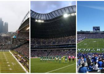 The stadiums for World Cup 2026 in Mexico-USA-Canada