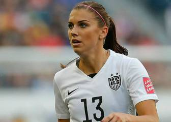 Alex Morgan le dio el triunfo a USA en amistoso vs China