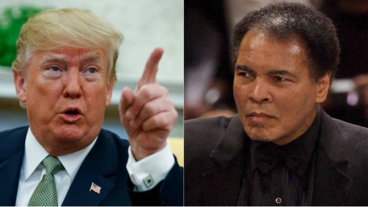 Donald Trump está considerando el perdón para Muhammad Ali - AS USA