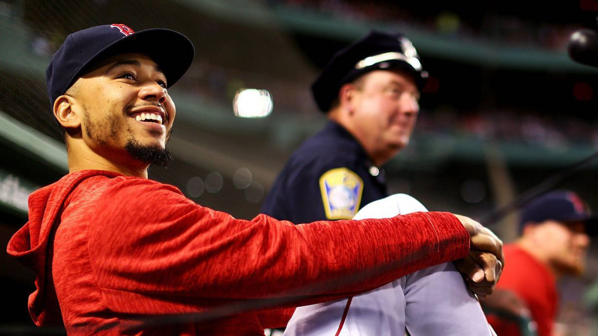 El poder de Mookie Betts regresa a los Red Sox