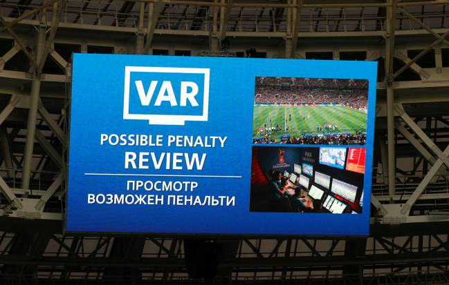 Video Assistant Referee en la final de Rusia 2018