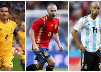 5 great players who played their last World Cup