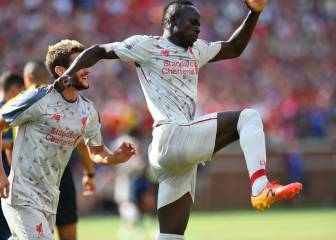 El Liverpool golea al United en Michigan